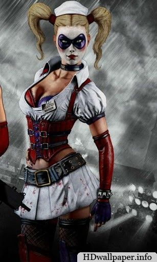 Pin by julia on hd wallpapers harley quinn cartoon - Harley quinn hd wallpapers for android ...