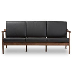 Superb Good Price Kellner Mid Century Modern Faux Leather Sofa Cjindustries Chair Design For Home Cjindustriesco