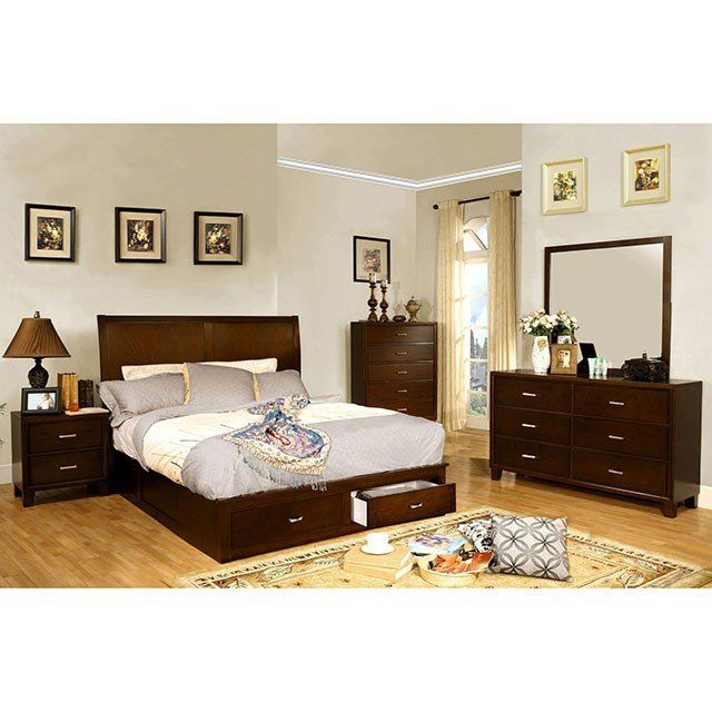 Furniture Of America Enrico V 4 Piece Bedroom Set in 2019 ...