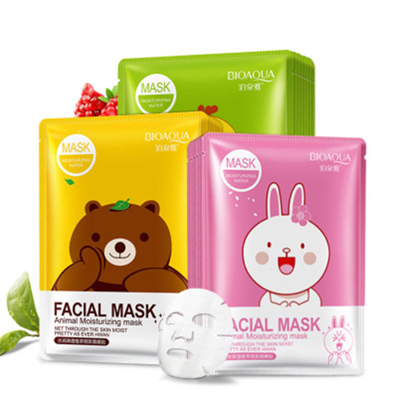 $1.26 AUD 1Pc Cartoon Animal Baby Facial Mask Skin Care