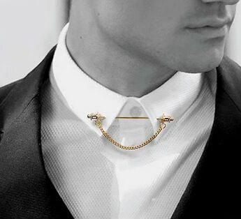 f68137922399 Classic Collar Bar in 2019 | The Classic Man. | Men necklace, Brooch ...