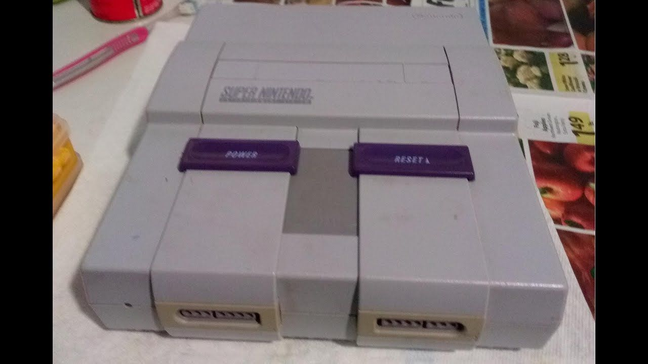 Snes Super Nintendo Entertainment System Complete Cleaning