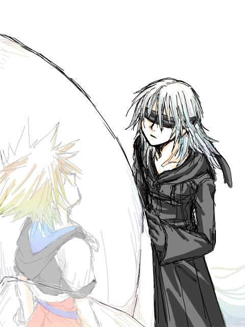 Sleeping Pod - I love the idea of Riku checking up on Sora as he is ...