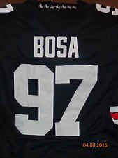sports shoes d7437 79e94 Joey Bosa #97 Ohio State Buckeyes Black Custom Football ...