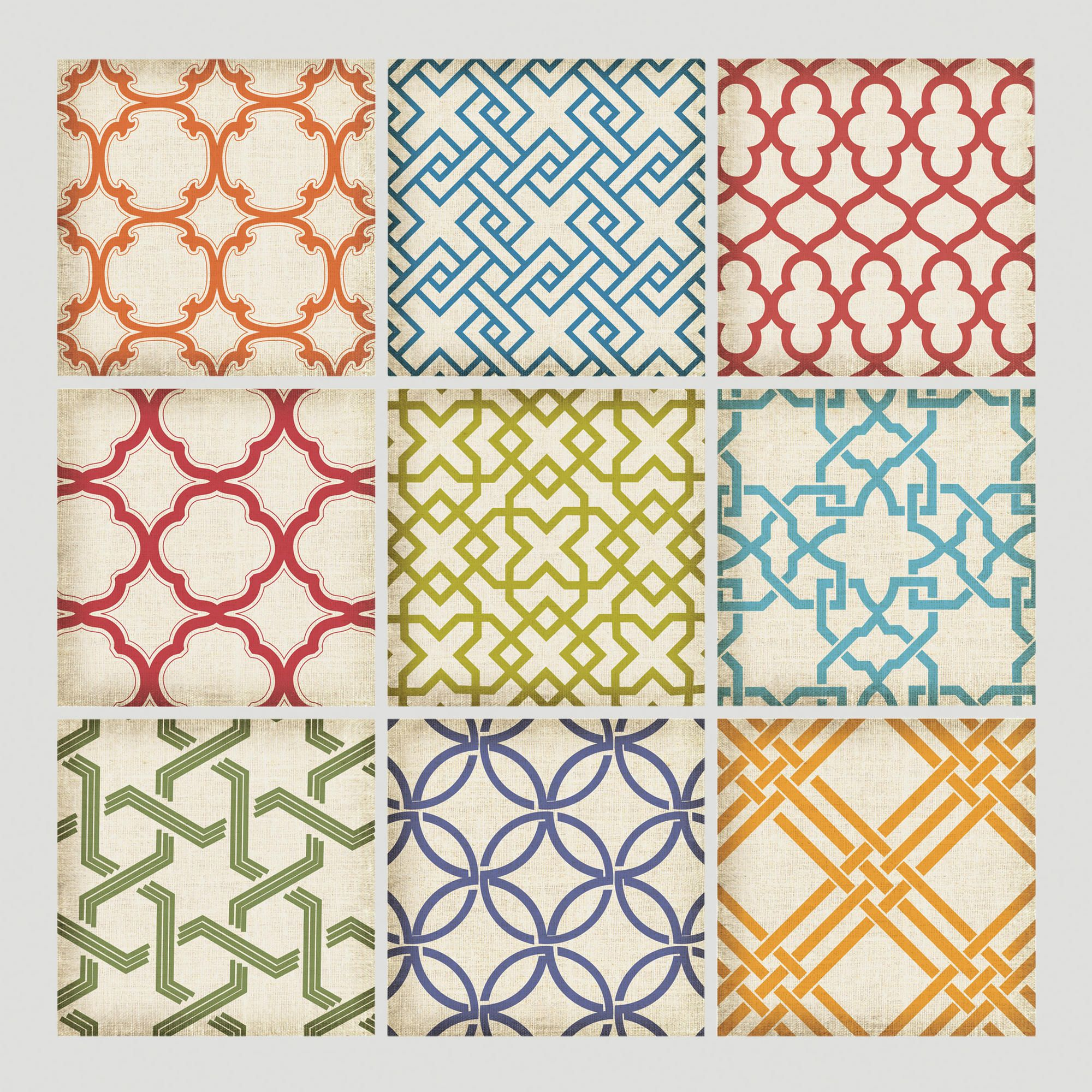 Geometric Tiles Wall Decals | World Market | All Ideas For Our Brand ...