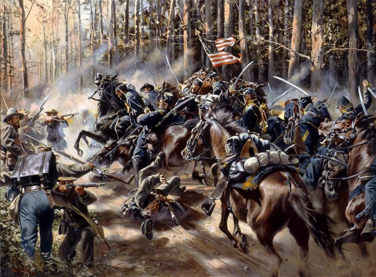 8th Pennsylvania Cavalry Battle Of Charlottesville