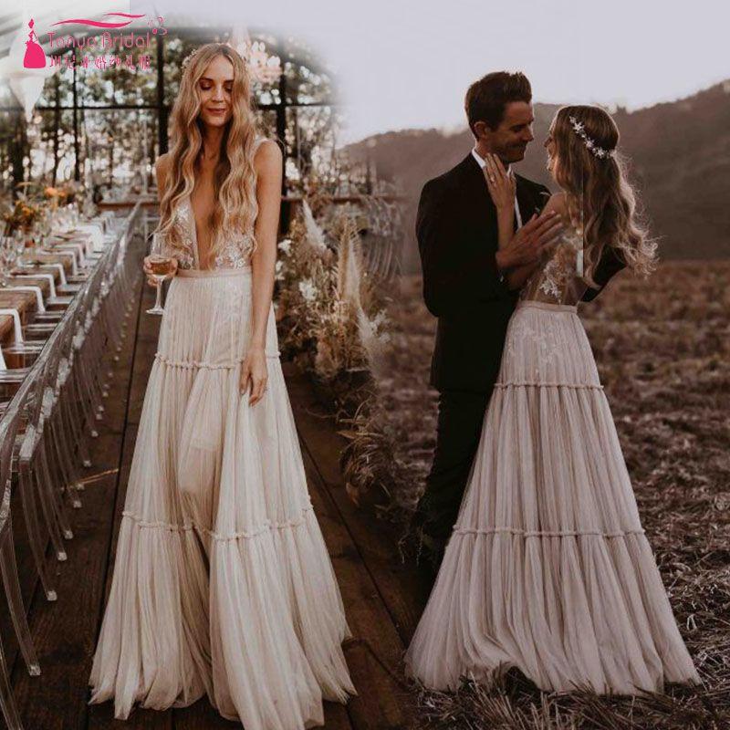 Hippie Style Wedding Dresses