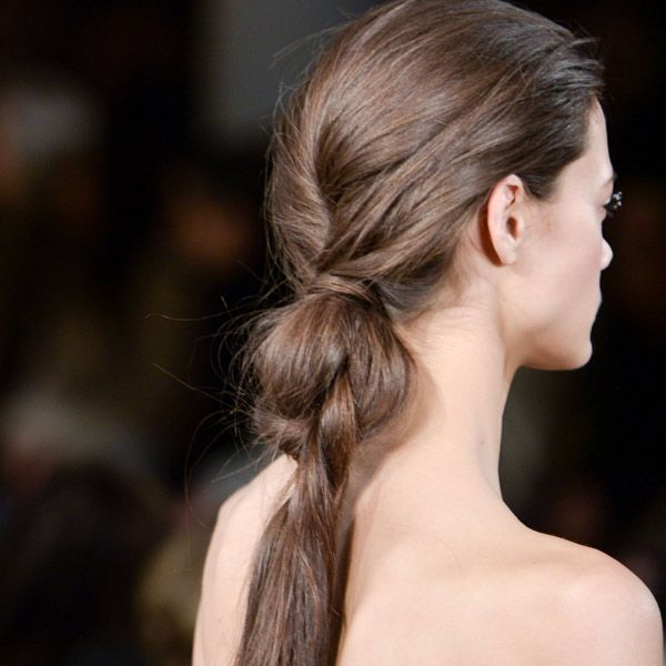 The nordic knot ponytail