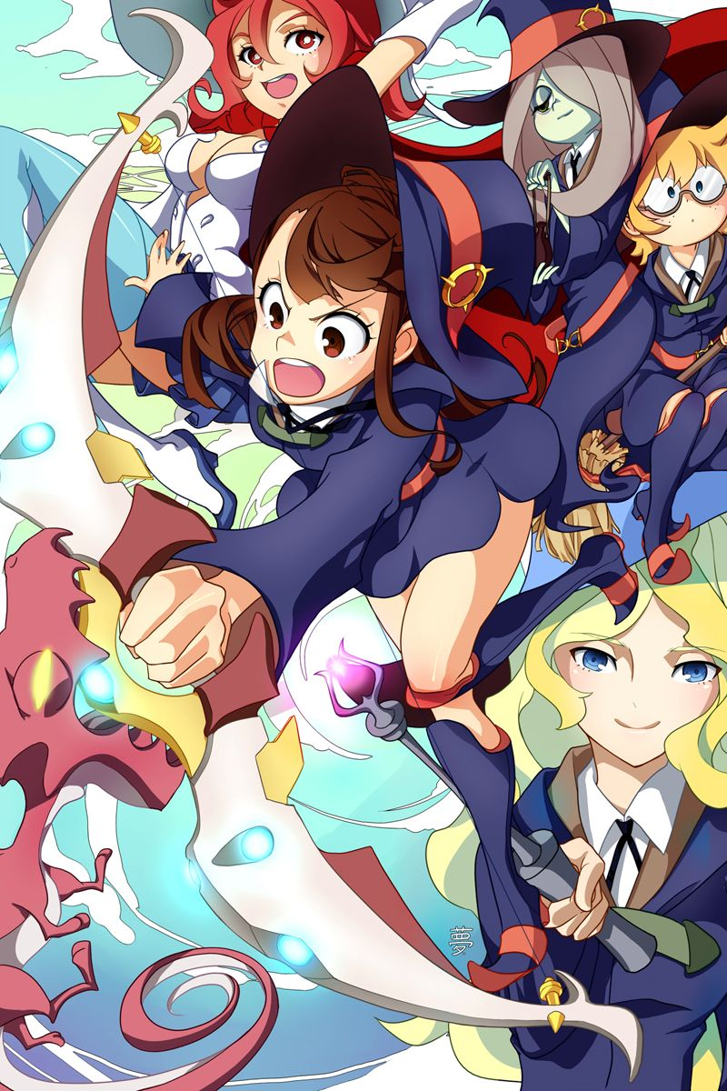 Shiny Arc! Little Witch Academia by lucidsky.deviantart