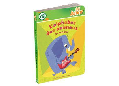 Tag™ Junior Book: L'alphabet des animaux en musique (ABC Animal Orchestra) FRENCH