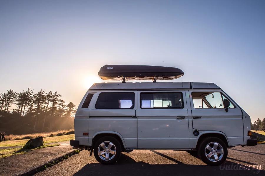 Explore Mt. Hood in style in this Vanagon Weekender that