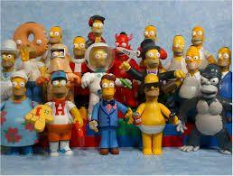 Resultado de imagen para simpsons toys