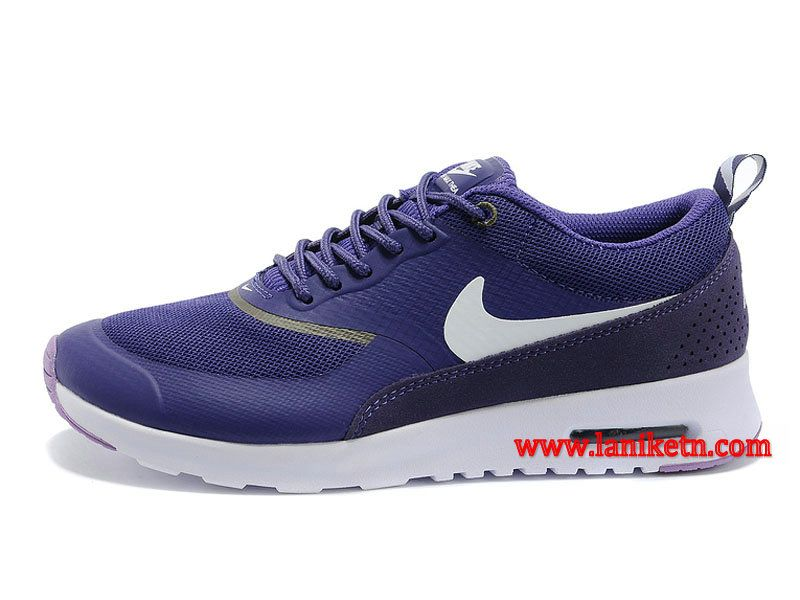 watch 46c03 62554 Nike Air Max Thea Print Chaussure Pour Femme Pourpre Blanc 599408-501