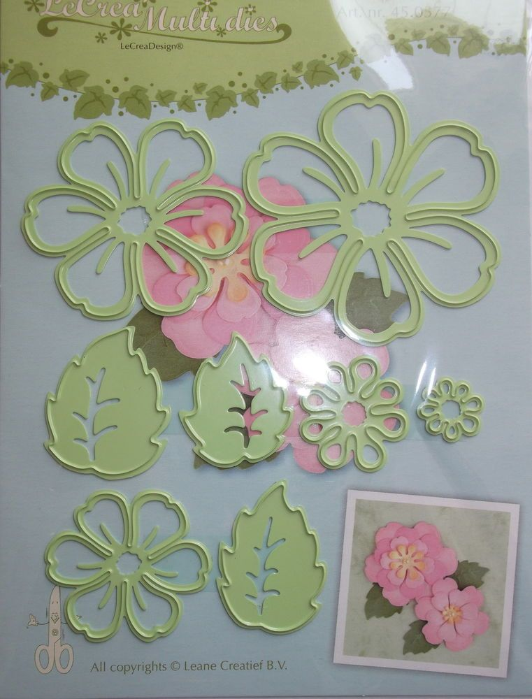 Lecrea Multi Die Cutter Flower 0577 Craft Card Making