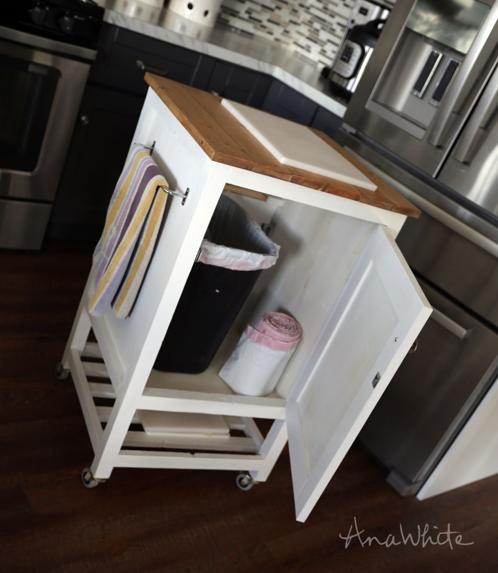 Build Michaela S Kitchen Island Diy Projects: Build A HOW TO: Small Kitchen Island Prep Cart