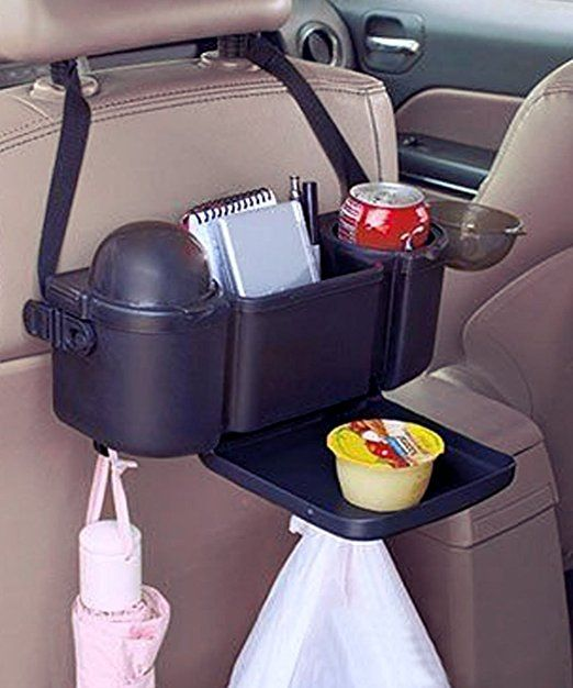 Amazon Com Zento Deals Car Seat Organizer With Fold Out Tray And
