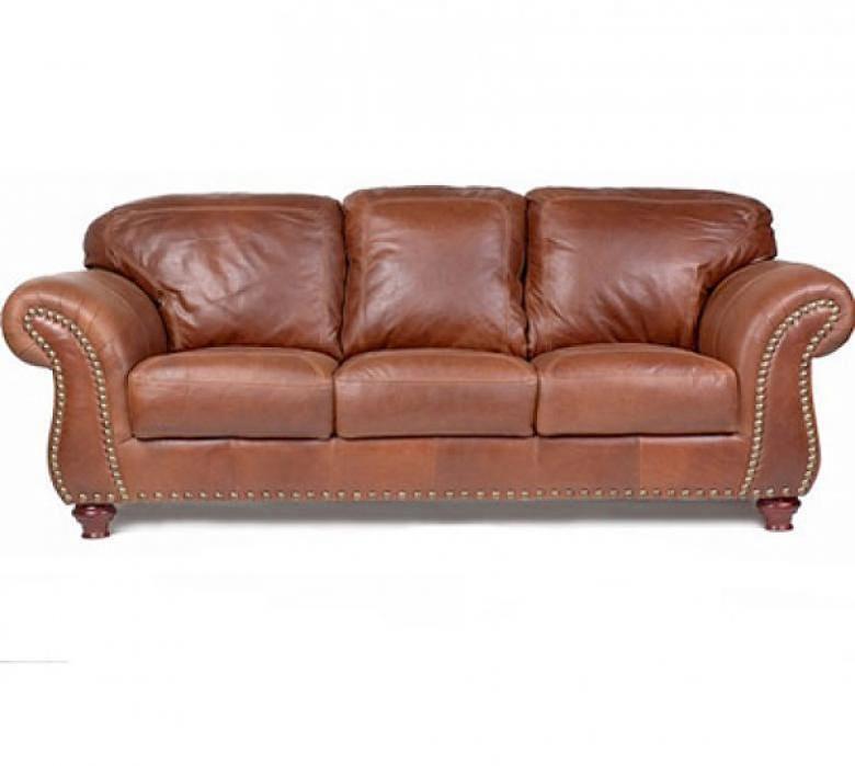 Leather Couch Sofa Sleeper Hereo