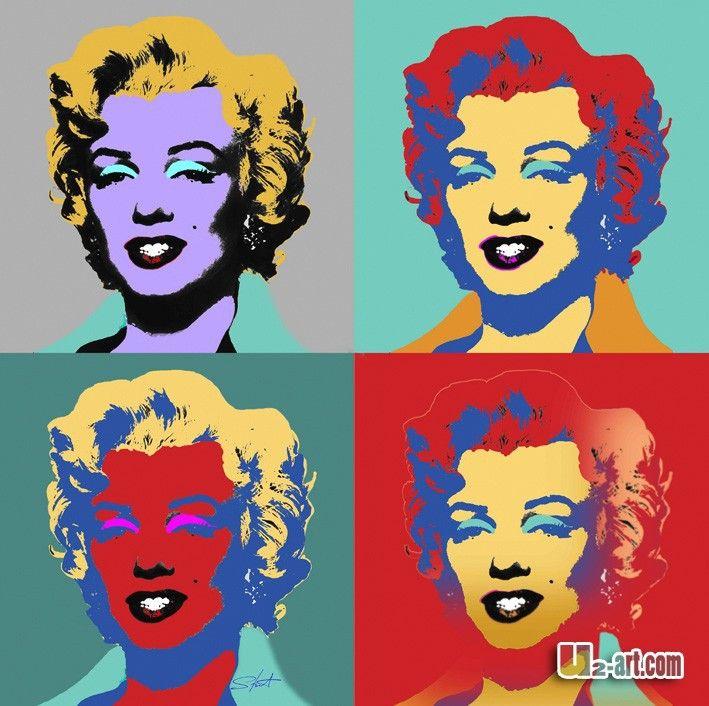 854319042_865.jpg (709×706) | Andy\'s Marilyn/ Warhol Inspired/Pop ...