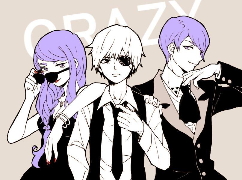 Crazy :: Rize, Kaneki, and Tsukiyama // TG