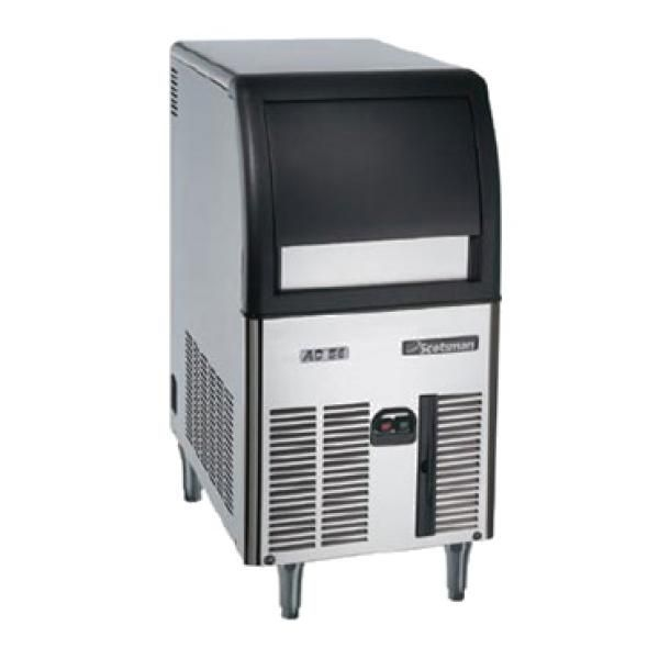 Ice Maker With Bin Gourmet Cube Style Air Cooled Self Contained Condenser Ice Maker Ice Machine Energy Saving Systems