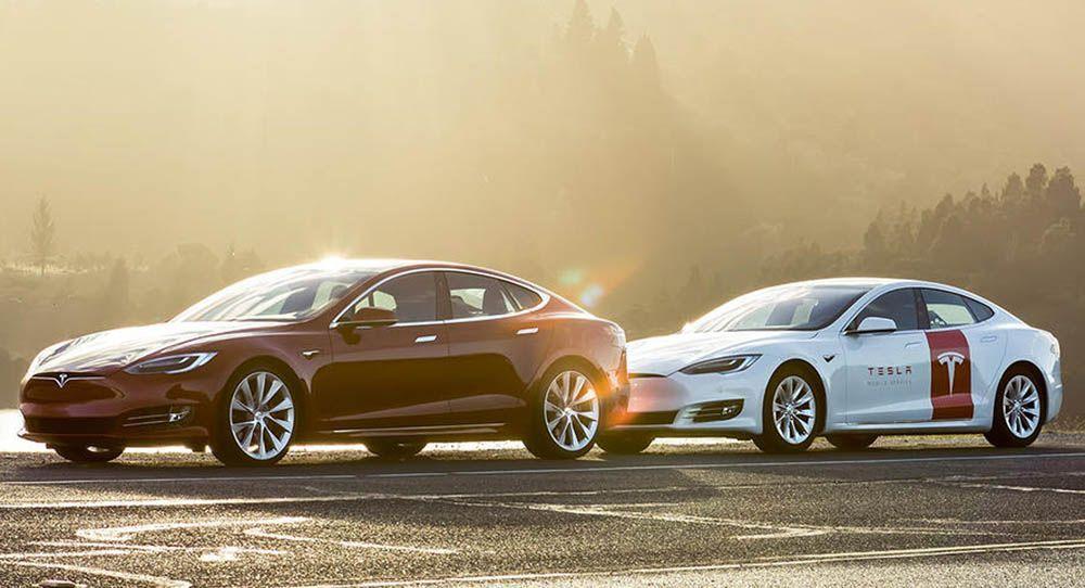 Tesla Services Teslas With Custom Model S Mobile Maintenance Vehicles