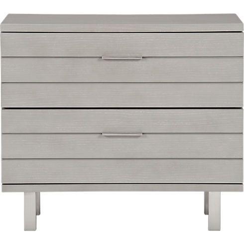 Best Concrete Nightstand In All Furniture Cb2 299 Modern 400 x 300