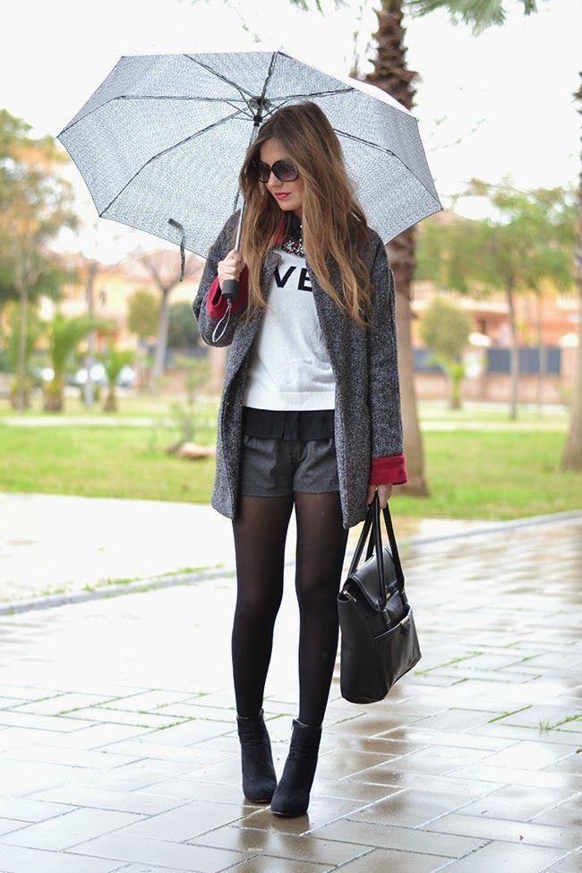 RAINY DAY | Mi aventura con la moda