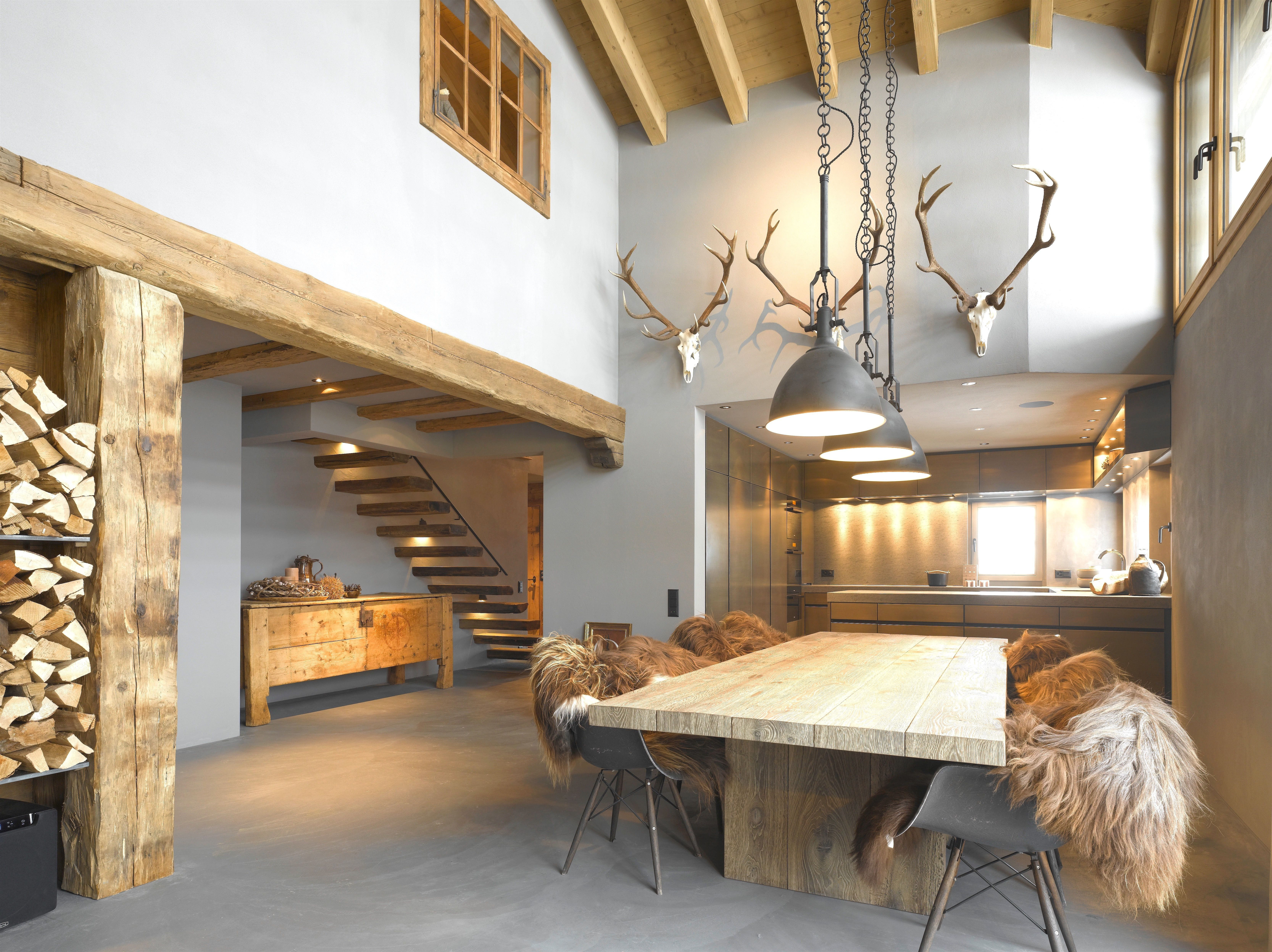 7 Schön Deko Ideen Holz  Wohnen, Wohnung, Rustikales wohnzimmer