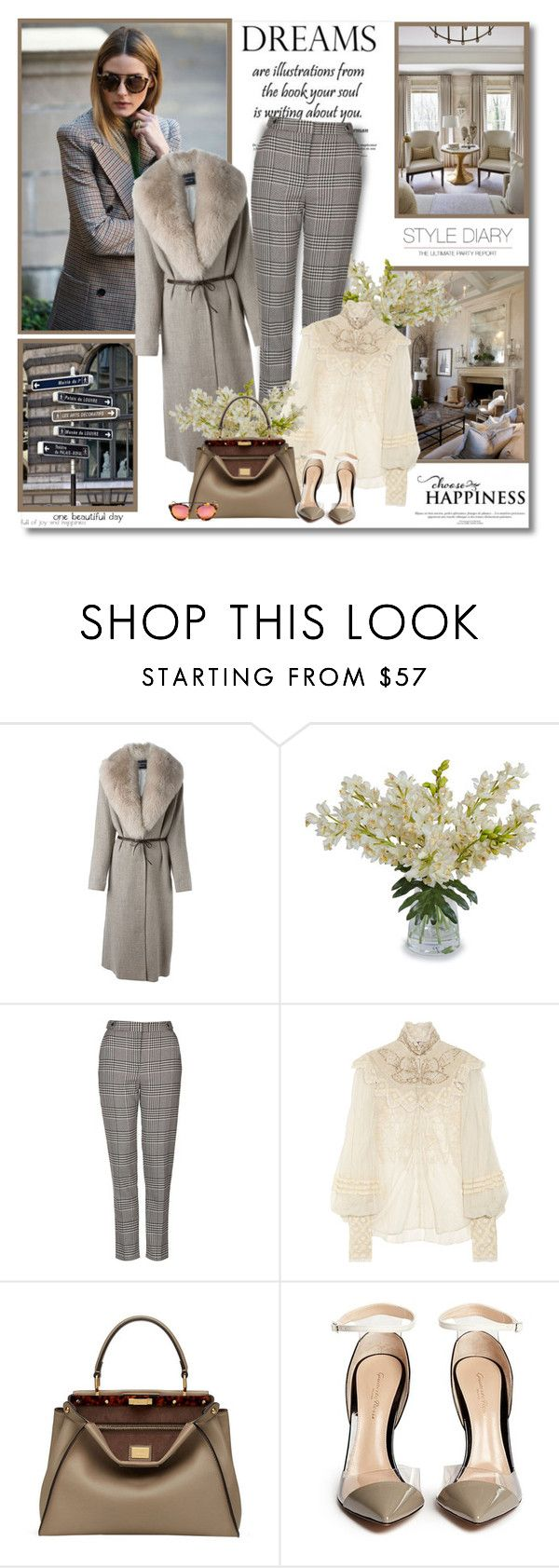 """""""Dreams are illustrations...from the book your soul is writing about you!!"""" by lilly-2711 ❤ liked on Polyvore featuring Lanvin, Aidan Gray, New Growth Designs, Topshop, Ralph Lauren Collection, Fendi and Gianvito Rossi"""
