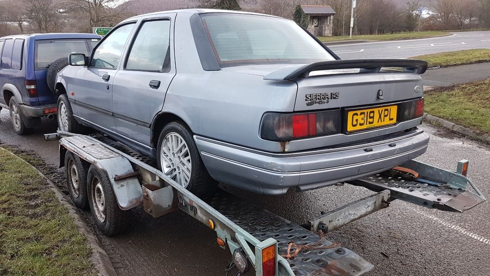 eBay: Ford Sierra RS Cosworth 4X4, Rare early car #classiccars #cars ...
