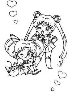 Luna Chibi Colouring Pages Sailor Moon Coloring Pages Chibi Coloring Pages Moon Coloring Pages
