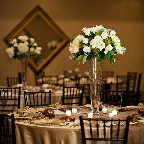 Gold Wedding Centerpiece Decorations: Wedding Color Gold - Wedding Color Silver
