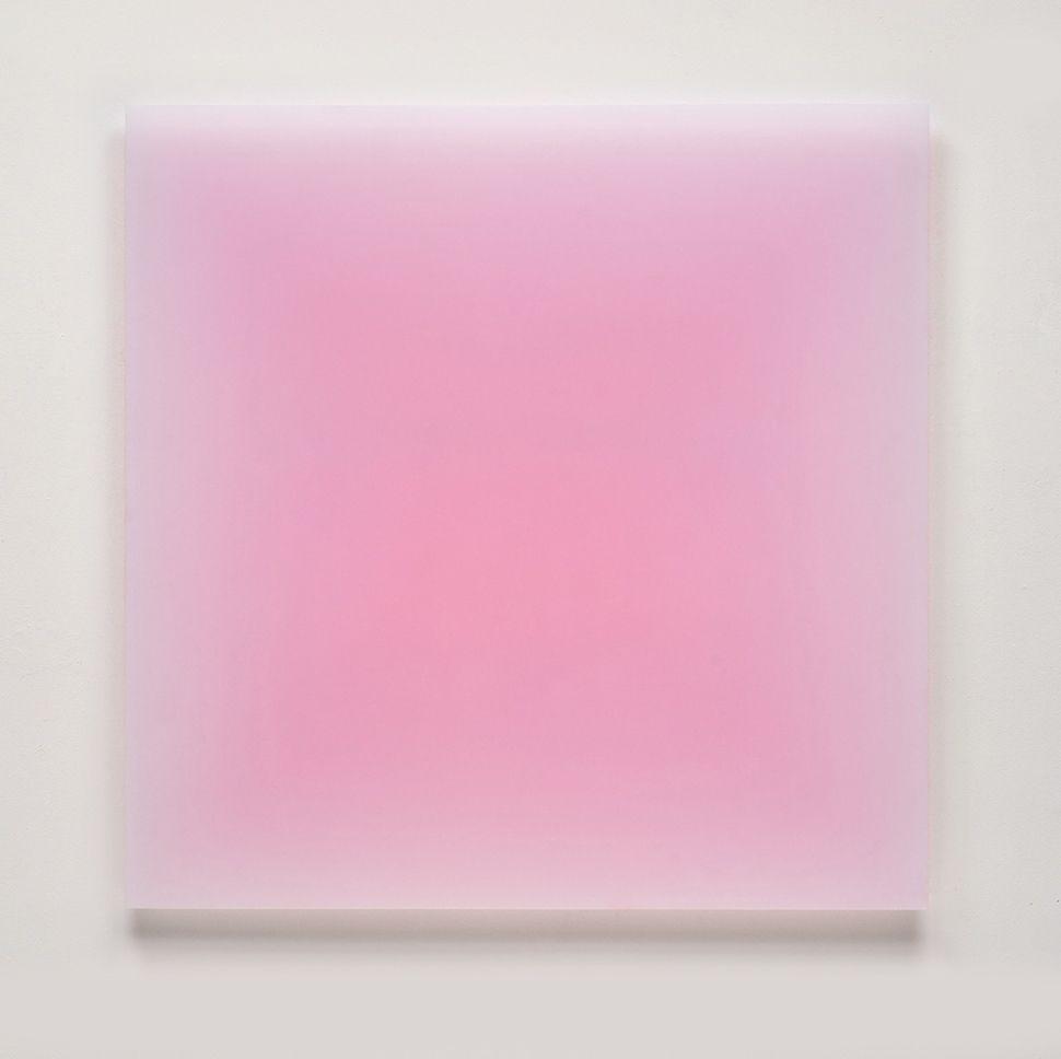 Peter Alexander,Untitled (Pink Square),2012.
