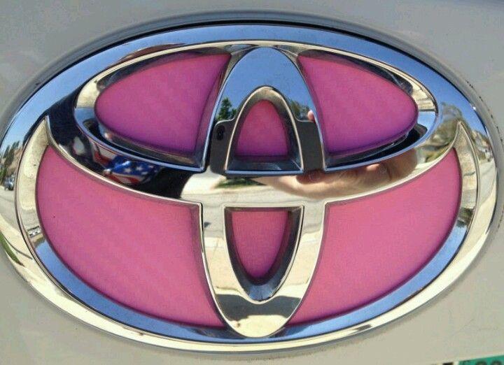 Pink Toyota Emblem For Tawanda Things That I Pinterest Toyota