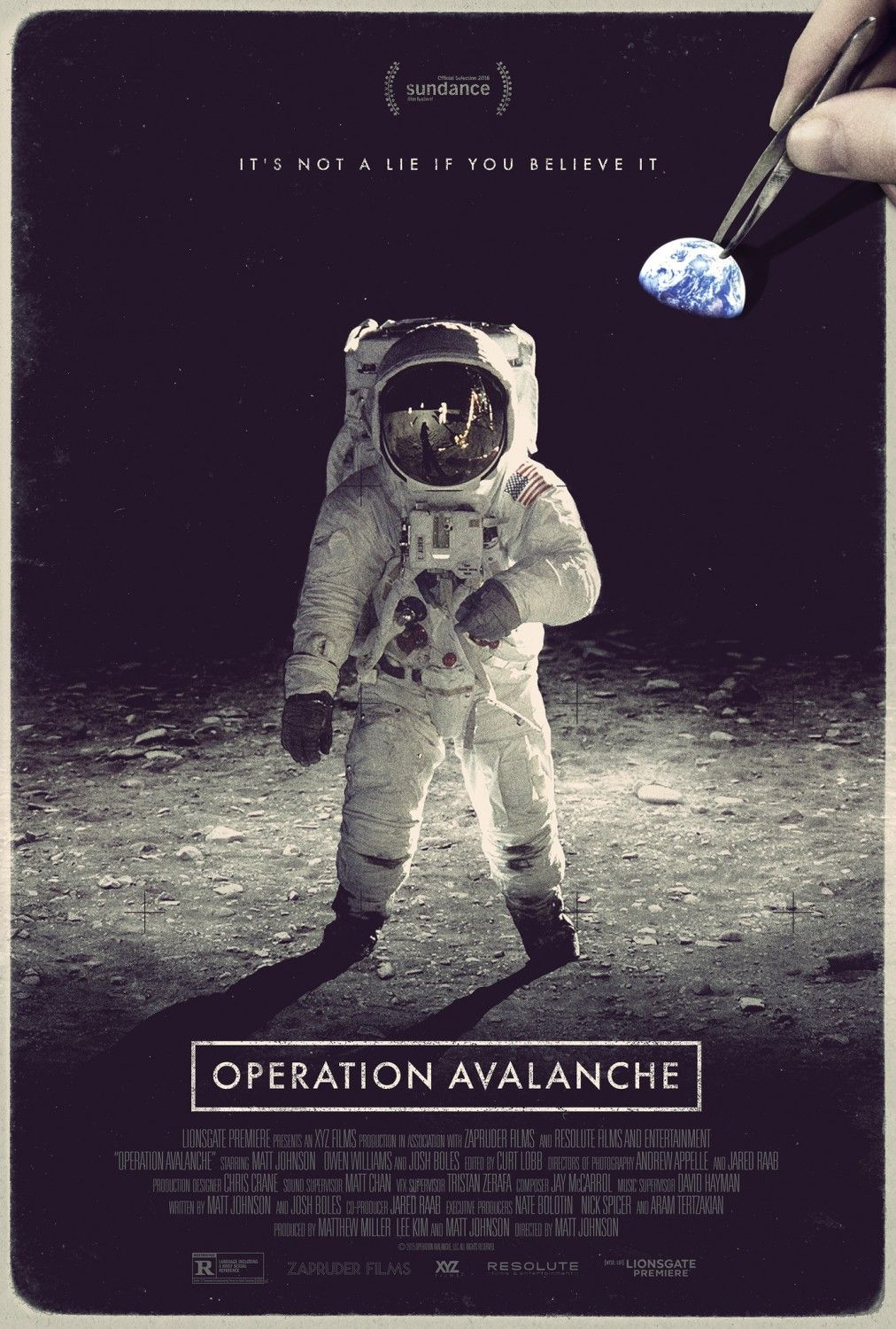 Return To The Main Poster Page For Operation Avalanche Melhores