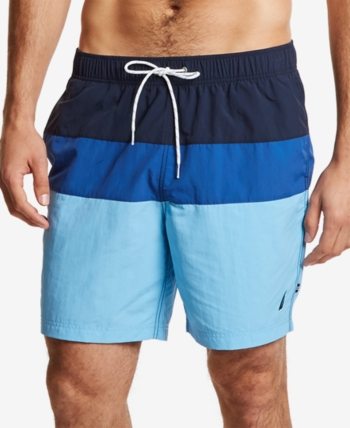 423e0cc04f Men's 18' Colorblocked Drawstring Swim Shorts in 2019 | Products ...