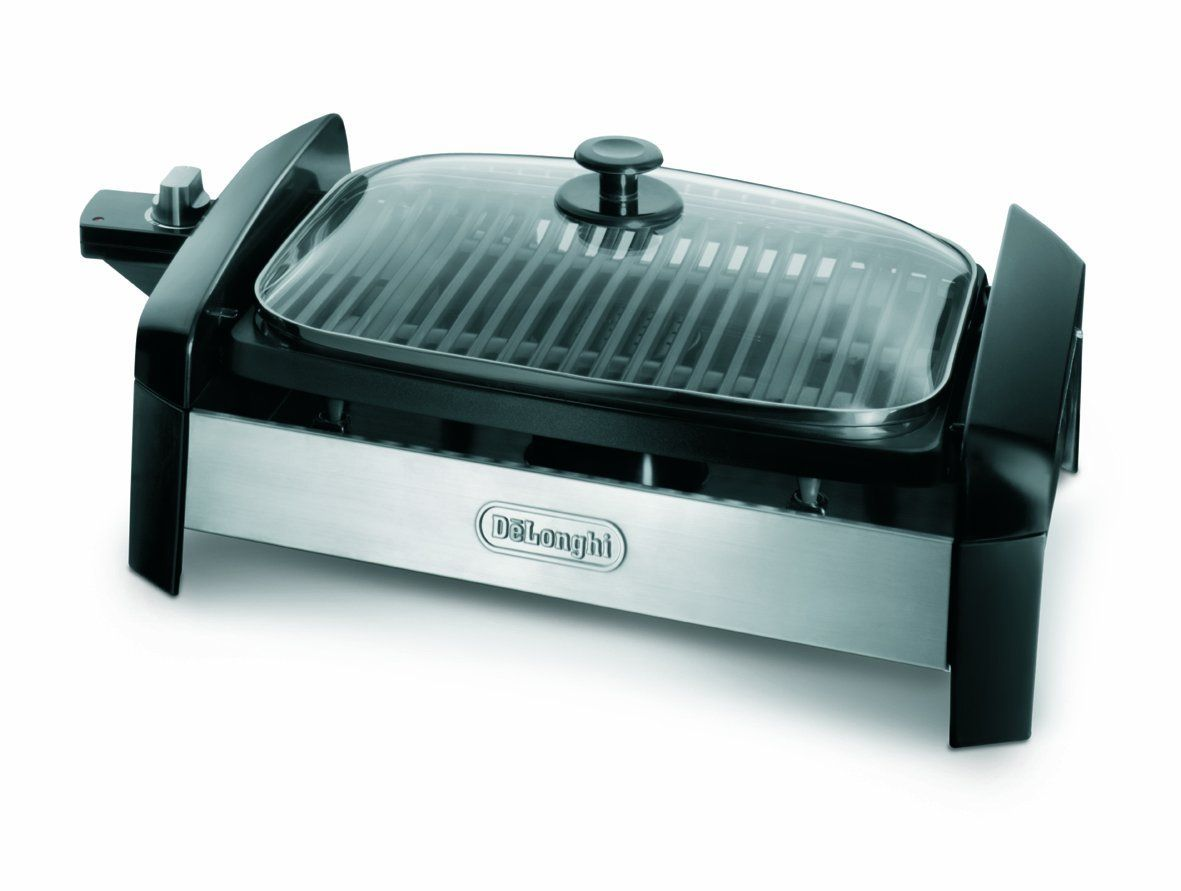 Amazon.com: 140 Sq. In. Indoor Grill with Stainless Steel Accents: Electric Contact Grills: Kitchen & Dining