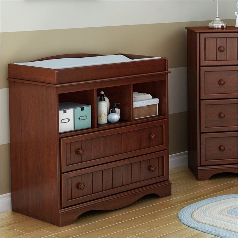 The South Shore Savannah #ChangingTable Brings A Bit Of Class To The Babyu0027s  #bedroom