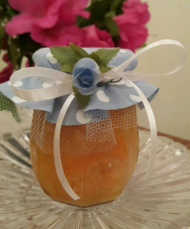 Geléia de laranja decorada
