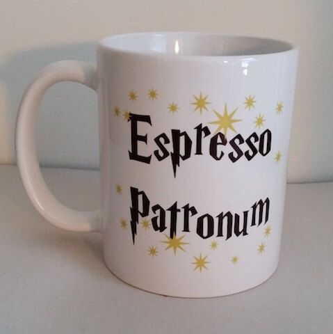 Espresso Patronum Coffee Mug by MugBrosMugs on Etsy https://www.etsy.com/listing/264887303/espresso-patronum-coffee-mug