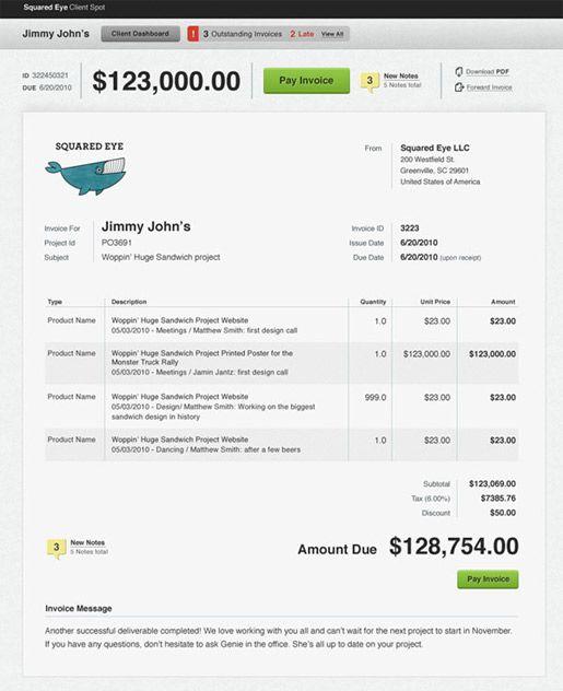 Well Designed Invoice Invoice Design Invoice Design Template Web Design