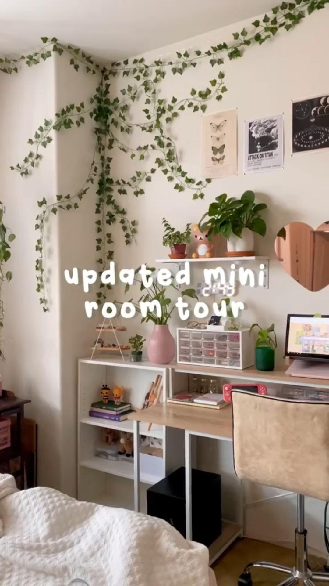 Aesthetic mini room tour