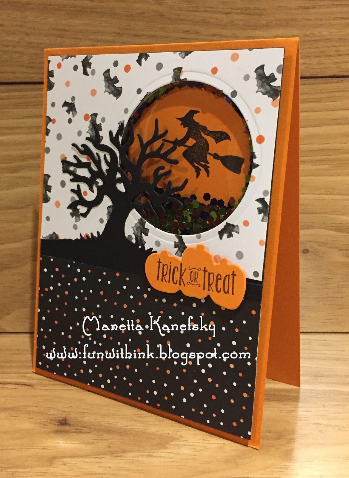 Stampin Up Class Card 5 Halloween Cards Handmade Halloween Cards Diy Halloween Paper Crafts