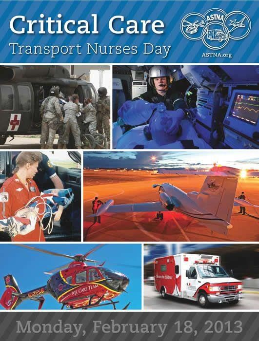 Critical Care Transport Nurses Day - my birthday! Transport