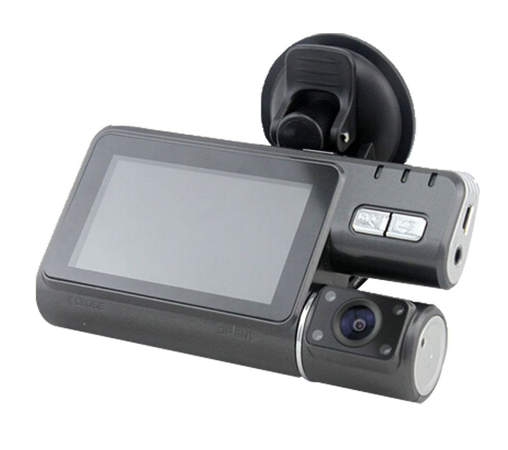 Condition:Brand new;Supports high capacity TF card, up to 32GB TF card Double views;1920 x720p high resolution video recording Motion detection,IR Night Vision and loop recording 120 degrees wide view angle, 330 degrees rotating screen panel Support video recording, motion detection, photographing, playback and review