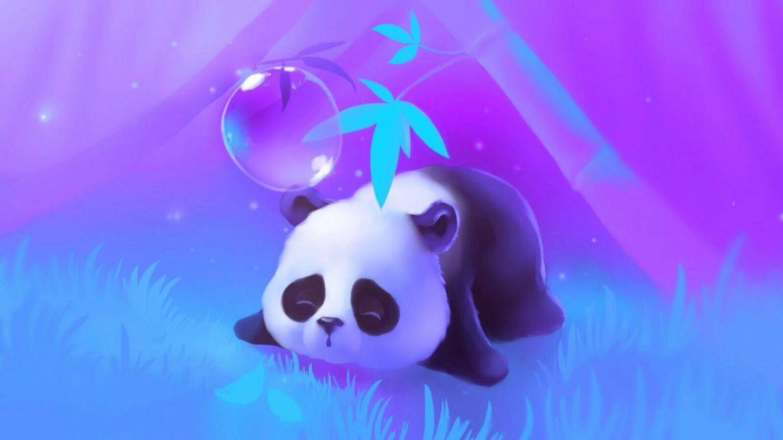 Purple Panda Cute Wallpapers For Ipad Cute Wallpaper Backgrounds Cute Wallpaper For Phone