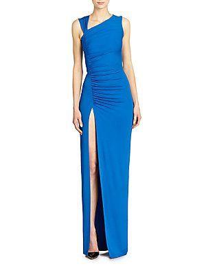 Asymmetrical Jersey Gown