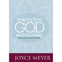 Hearing from God Each Morning.  This is an amazing devotional! A gift from my wife that I love.