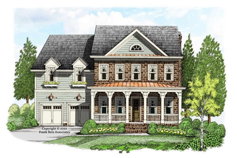 Ethans Mill House Plan Two Story Living At Its Best That Is What Comes To Mind With Regard To The Eth Colonial House Plans Story House Two Story House Plans