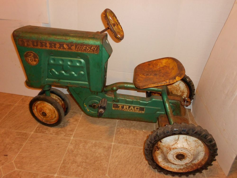Are vintage pedal tractors consider, that